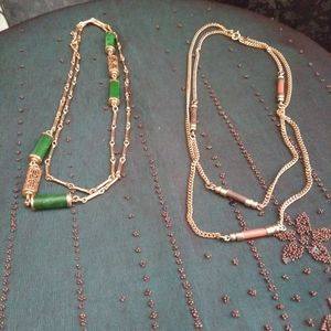 Vintage Sarah Coventry necklaces